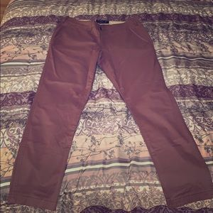 Men's athletic slim Abercrombie and Fitch pants